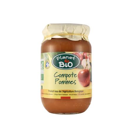 【PLANETBIO】有機果泥抹醬(蘋果-含果肉) 350G