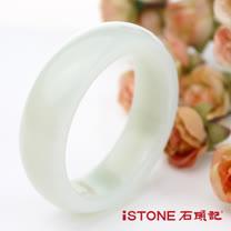 石頭記 頂極潤脂和田玉白玉手鐲-19.5