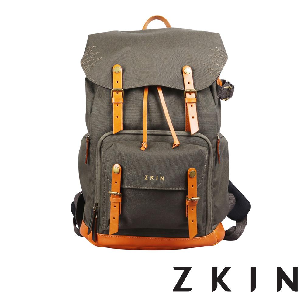 ZKIN RAW Yeti 重裝極限雙肩相機包(軍綠)