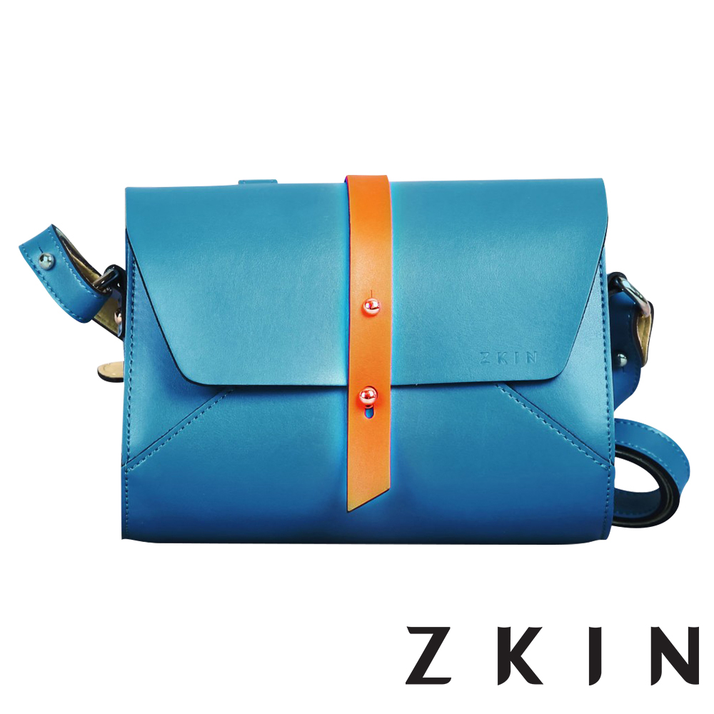 ZKIN Retro Harpy 經典復古單肩相機包(松石藍)