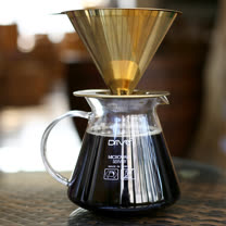 Driver 鈦金 濾杯咖啡壺組