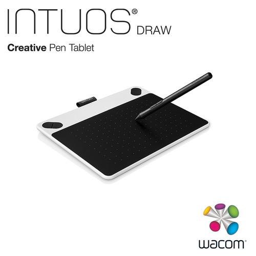 Wacom Intuos Draw 塗鴉創意繪圖板-簡約白(小)CTL-490+CorelPainter 2016