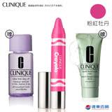 CLINIQUE 倩碧 水漾晶凍翹唇筆CRAYOLA限定版-15粉紅牡丹