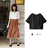 日本ANNA LUNA 預購-ViVi雜誌 V領喇叭袖短版上衣(共三色/M-L)