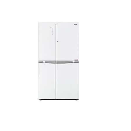 促銷★LG樂金 門中門魔術空間對開冰箱 晶鑽白 / 825公升 (GR-DB78G) 含基本安裝