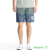 bossini男裝-撞色輕便短褲05草綠(品特)
