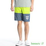 bossini男裝-撞色輕便短褲05亮綠