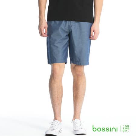 bossini男裝-輕便短褲06深靛藍