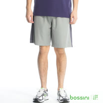 bossini男裝-速乾運動短褲11淺灰