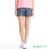 bossini女裝-印花輕便短褲06深靛藍