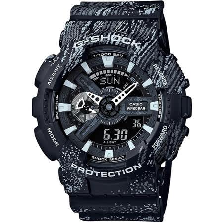 G-SHOCK GA-110 運動時尚主題腕錶-黑(GA-110TX-1A)