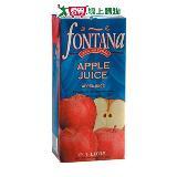 FONTANA100%天然蘋果汁1000ml