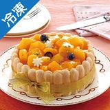 芒果夏洛特蛋糕(6吋)