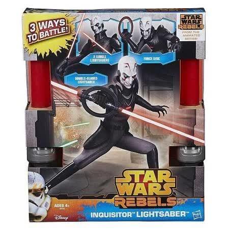【孩之寶流行玩具】星際大戰反叛軍之戰-反派光劍 A8559