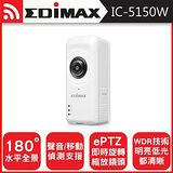 EDIMAX 訊舟 IC-5150W 全景式魚眼無線網路攝影機加贈無線橋接器 ..