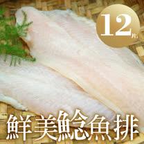 【築地一番鮮】鮮美鯰魚排12片(4片裝/包/淨重700g)免運組