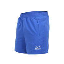 (男) MIZUNO 桌球短褲-美津濃 藍白