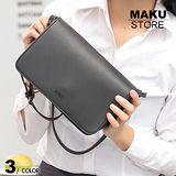 【MAKU STORE】韓版新款百搭時尚迷你側背小方包-黑色