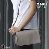 【MAKU STORE】韓版新款百搭時尚迷你側背小方包-珠光灰