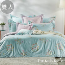 Tonia Nicole東妮寢飾 維納斯環保印染精梳棉兩用被床包組(雙人)