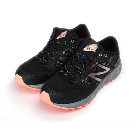 (女) New Balance 限定版 590 AT 越野跑鞋 黑橙粉 WT590RB2 女鞋 鞋全家福