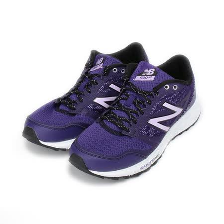 (女) New Balance 限定版 590 AT 越野跑鞋 紫 WT590RV2 女鞋 鞋全家福