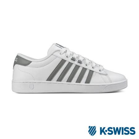 K-Swiss Hoke CMF美式休閒鞋-男-白/灰