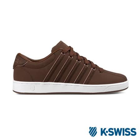 K-Swiss Court Pro II S SP CM休閒運動鞋-男-咖啡