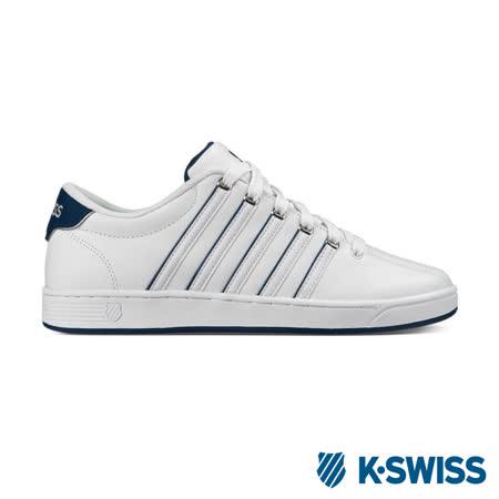 K-Swiss Court Pro II SP CMF休閒運動鞋-男-白/藍
