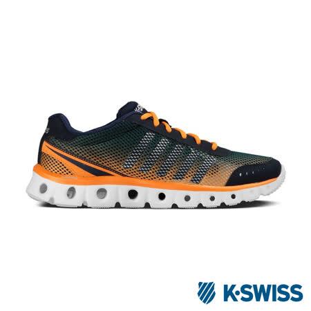 K-Swiss X Lite Athletic CMF輕量訓練鞋-男-海軍藍/橘/銀
