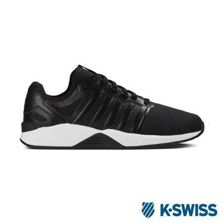 K-Swiss Si-18 Trainer 3.5休閒運動鞋-男-黑/白
