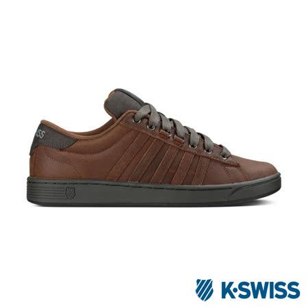 K-Swiss Hoke P CMF美式休閒鞋-男-咖啡/炭灰