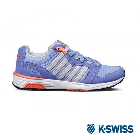 K-Swiss Si-18 Trainer II休閒運動鞋-女-藍/粉橘
