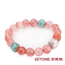 石頭記草莓晶10mm手鍊-愛情魔法石