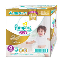 【幫寶適Pampers】 特級棉柔拉拉褲(XL)64片/箱