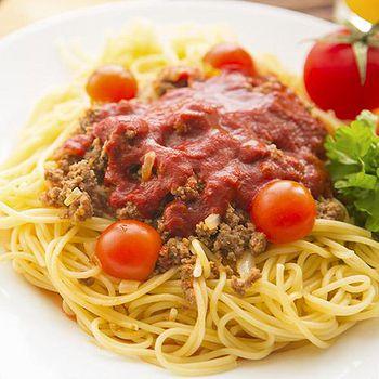 義式主廚系列 經典義式蕃茄肉醬義大利麵4份組 (麵200g+醬300g)