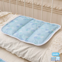 【日本SANKI】日本三貴SANKI 3D網冰涼枕座墊2入 可選