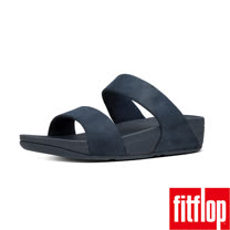 FitFlop™-(女款)SHIMMY™ OPUL SLIDE-海軍藍