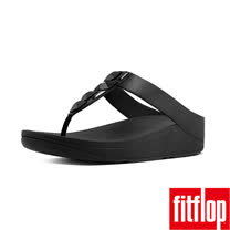 FitFlop™-(女款)SPARKLIE™ TOE-THONG SANDAL-黑