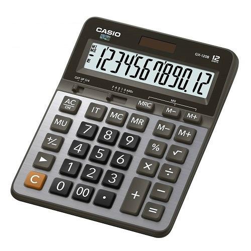 CASIO卡西歐 CASIO卡西歐 12位數雙電源商用計算機~~ GX~120B