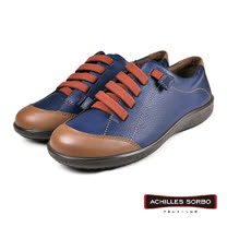 【Achilles SORBO】輕量荔枝紋休閒鞋 藍色(SRL2530-BU)