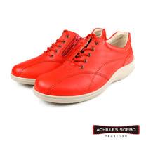 【Achilles SORBO】輕量繫帶休閒鞋 橘色(SRL3120-OR)