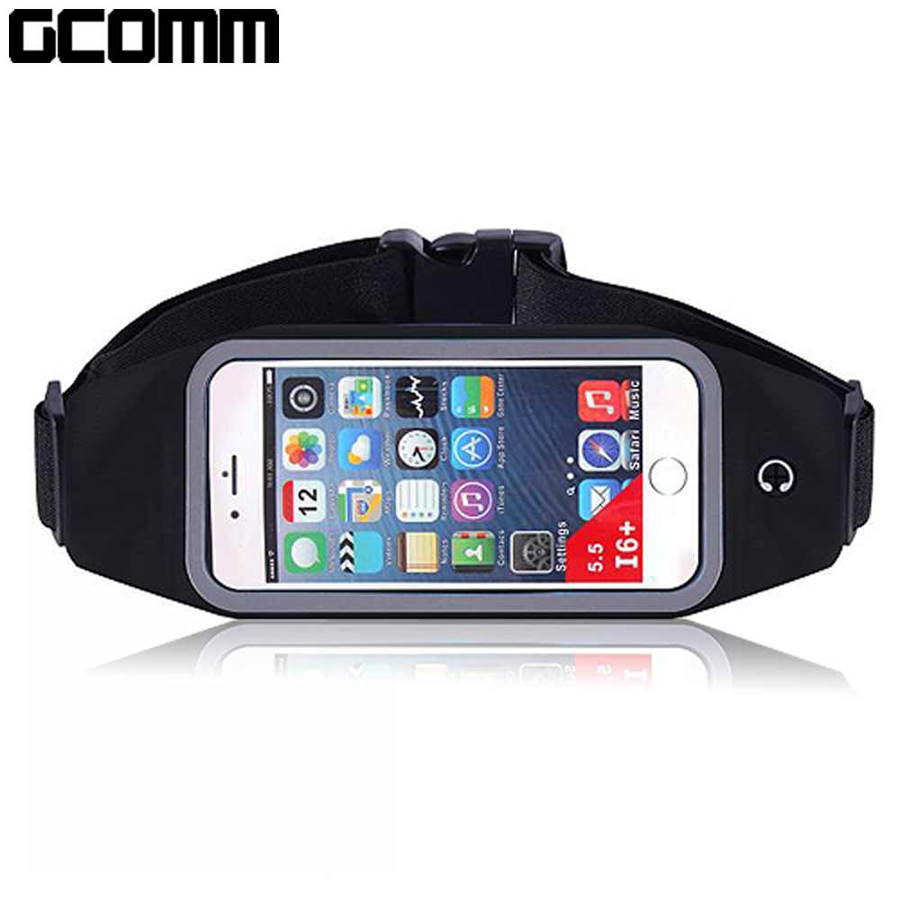 GCOMM 穿戴式音樂防汗水運動腰包 4.8吋以下通用