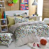 IN HOUSE-Love copenhange -300織紗精梳棉-兩用被床包組(雙人)
