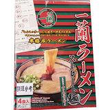 日本一蘭直麵盒裝516g/4入