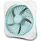 歌林10吋DC節能電風扇KFC-MN1029藍