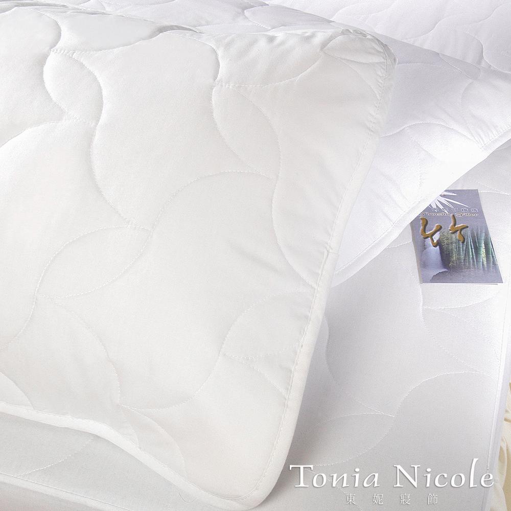 Tonia Nicole東妮寢飾 竹纖平單式枕頭保潔墊^(2入^)