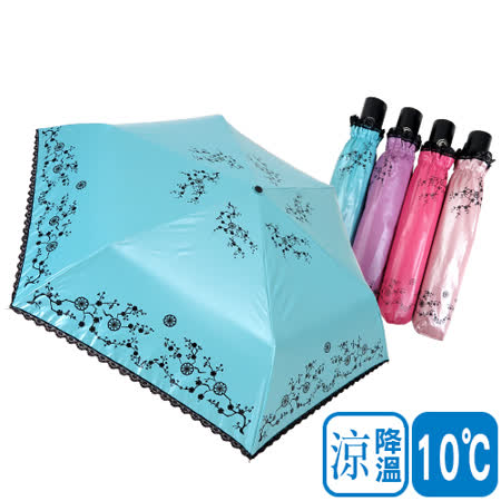 【日本雨之戀】降溫 10℃ 自動開收傘-{ 京都 } 輕量/遮陽傘/雨傘/雨具/晴雨傘/UV/自動傘