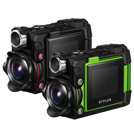OLYMPUS TG-Tracker 運動型攝影機(公司貨)-加送64G卡+專用電池+專用座充+清潔組+保護貼