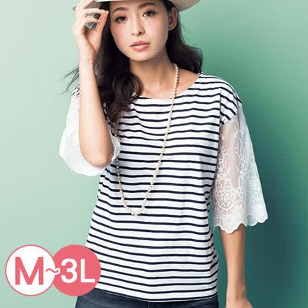 日本ANNA LUNA 預購-高雅蕾絲寬袖上衣(共五色M-3L)